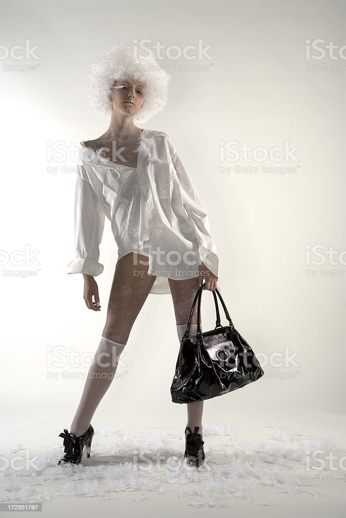 Fashion girl royalty-free stock photo