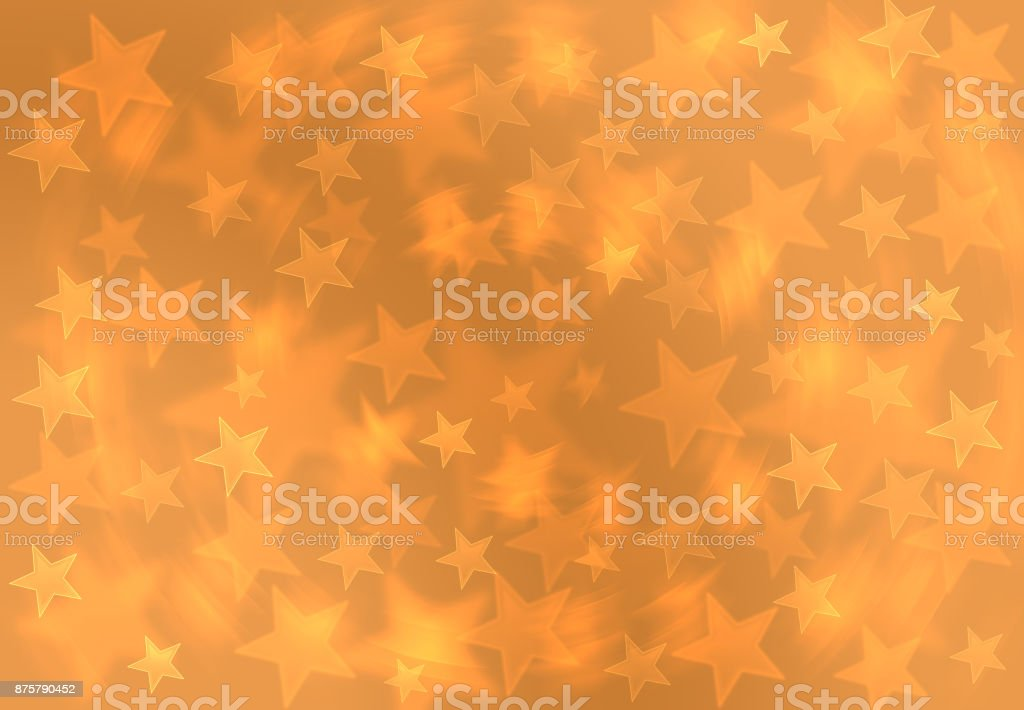 fashion golden yellow blur star space galaxy christmas gift wrap picture id875790452