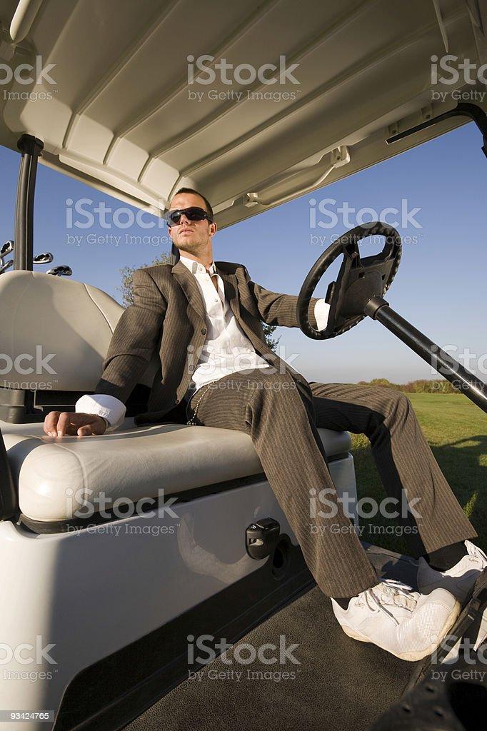 Fashion Golf royalty-free stock photo