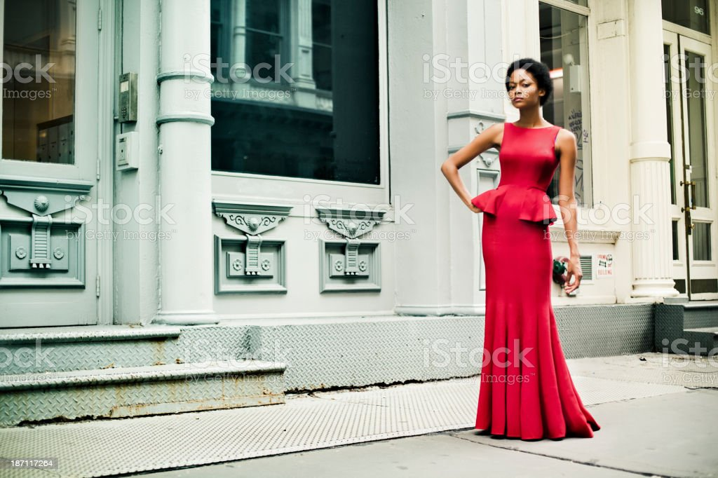 Fashion in New York City stock photo