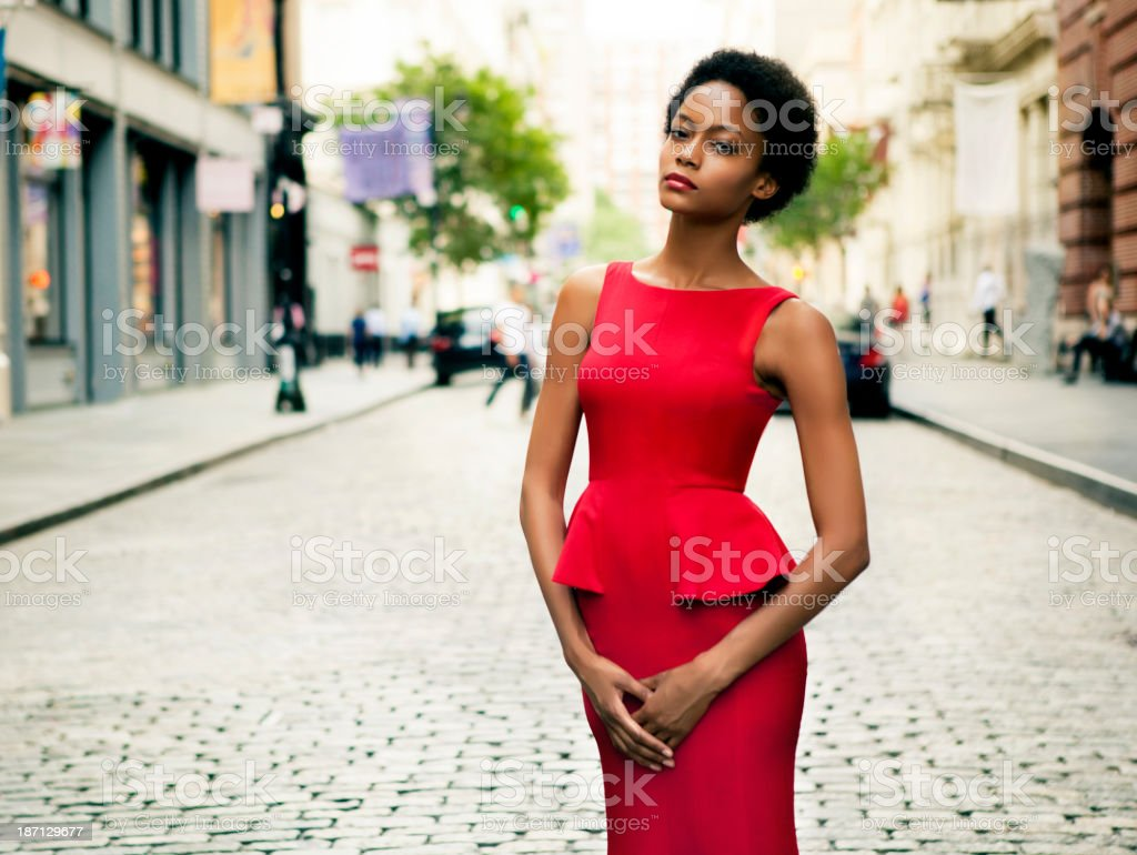 Fashion in New York City royalty-free stock photo