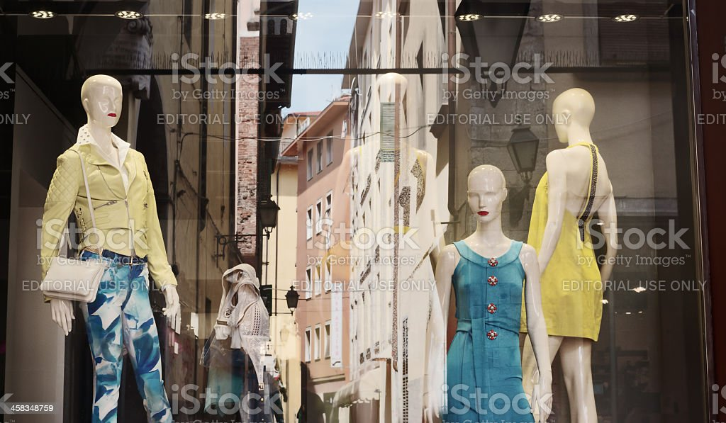 Fashion in the city royalty-free stock photo