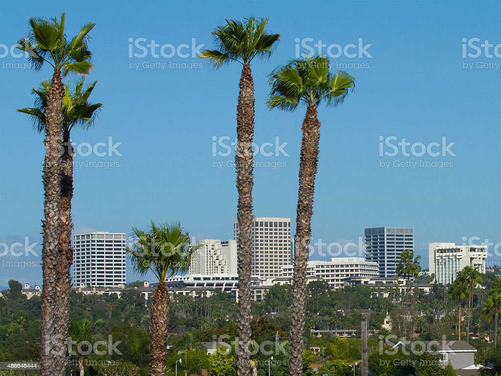 Fashion Island - Orange County stock photo