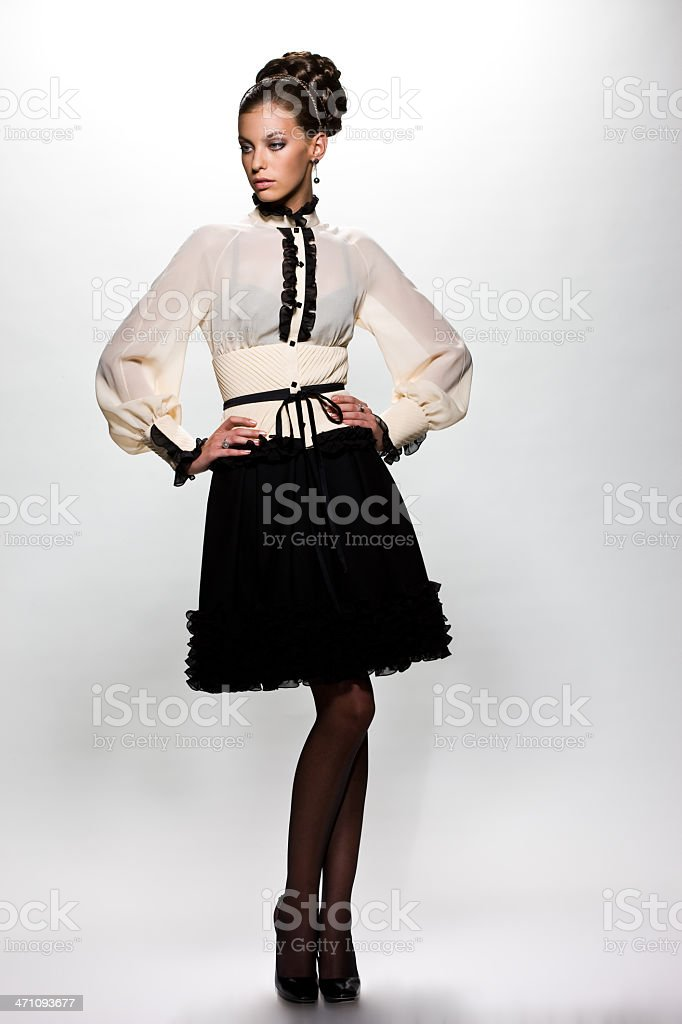 Fashion Lady royalty-free stock photo
