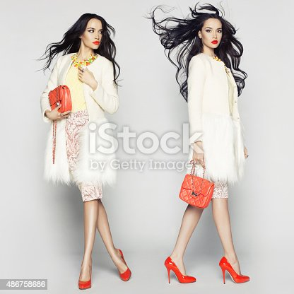 istock Fashion lady 486758686