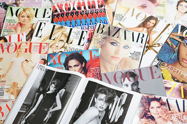 Best Fashion Magazine Stock Photos, Pictures & Royalty-Free Images