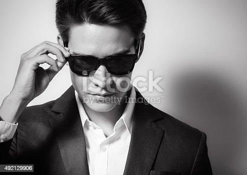 155279067 istock photo Fashion male model 492129906