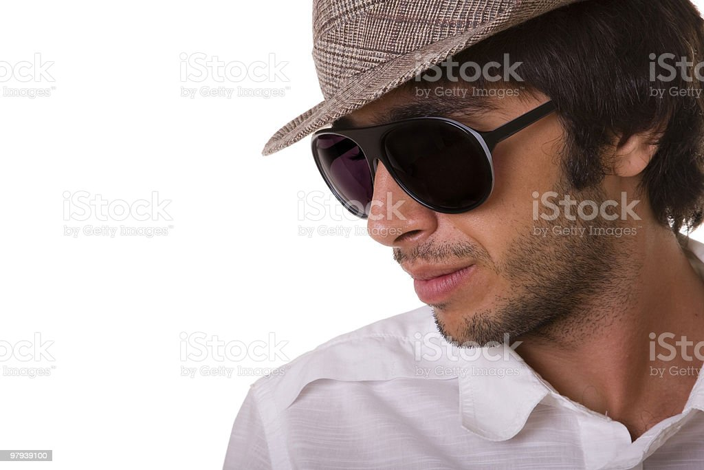 fashion man model royalty-free stock photo