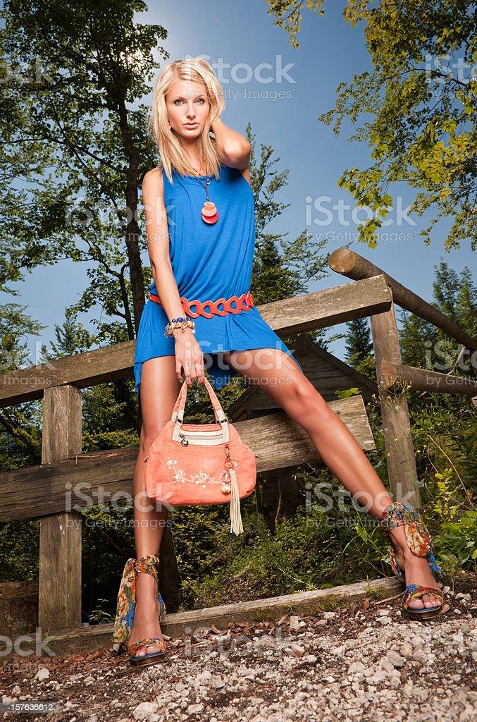 Fashion meets Nature (XXXL) royalty-free stock photo