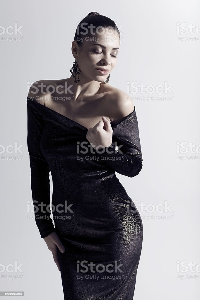 model im studio – Foto