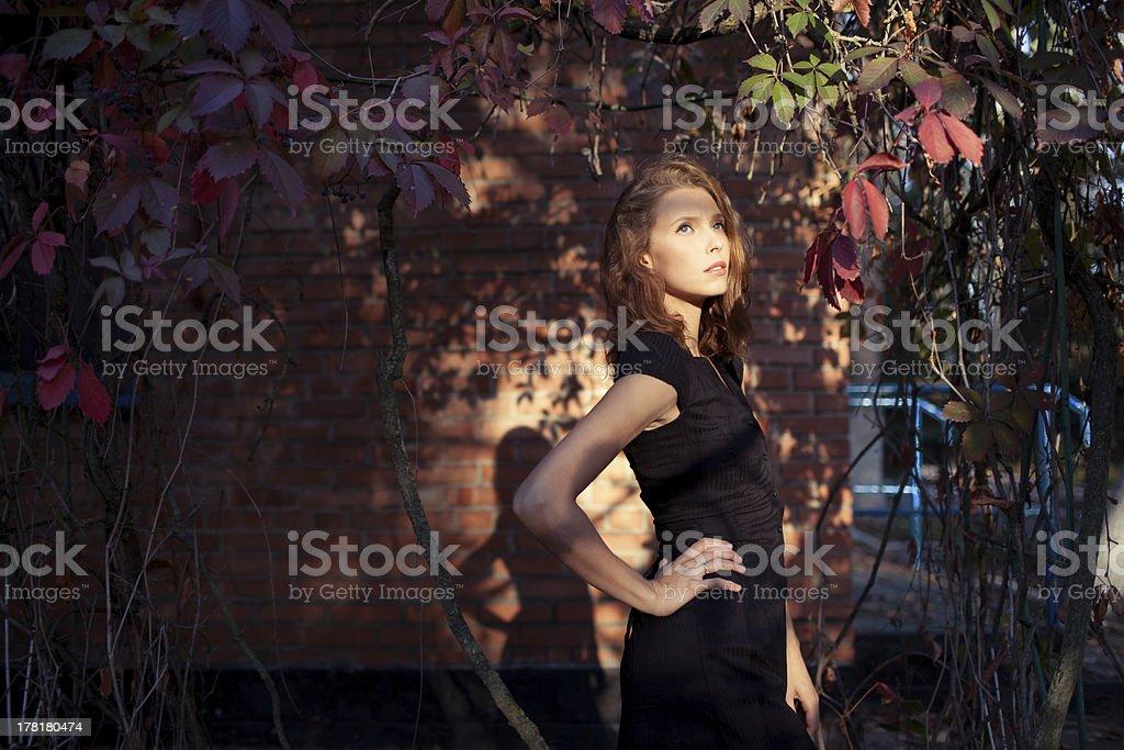 model im Freien – Foto