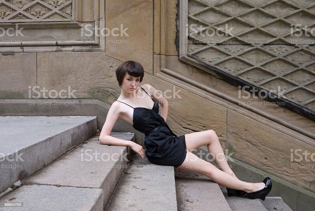 fashion model Lizenzfreies stock-foto