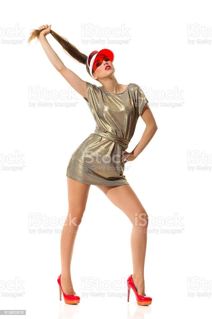Foto De Fashion Model Poses E Mais Fotos De Stock De Adulto Istock