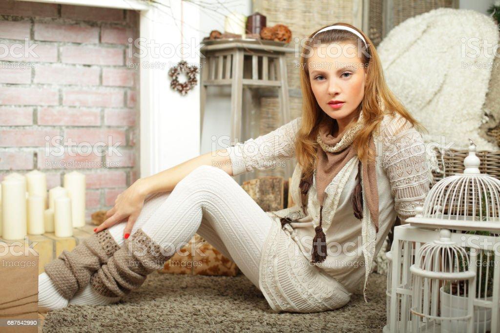 Mannequin avec le maquillage - Photo
