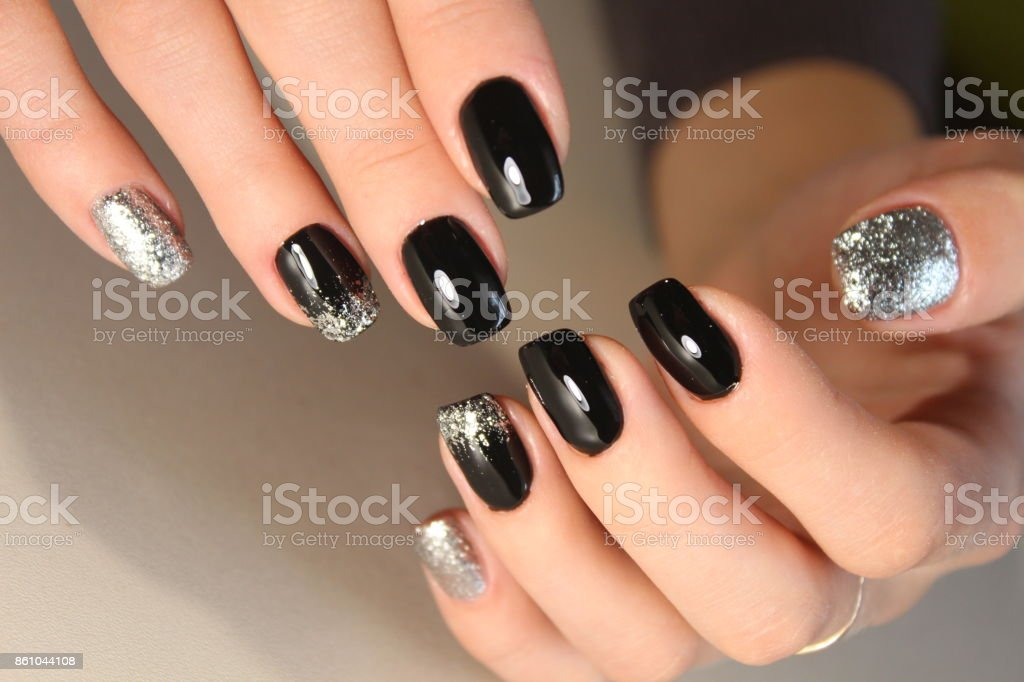 Fashion Nails Design Manicure Stock Photo & More Pictures of Art ...