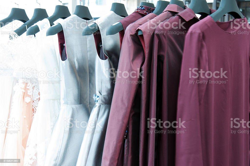 Fashion on a hanger stock photo