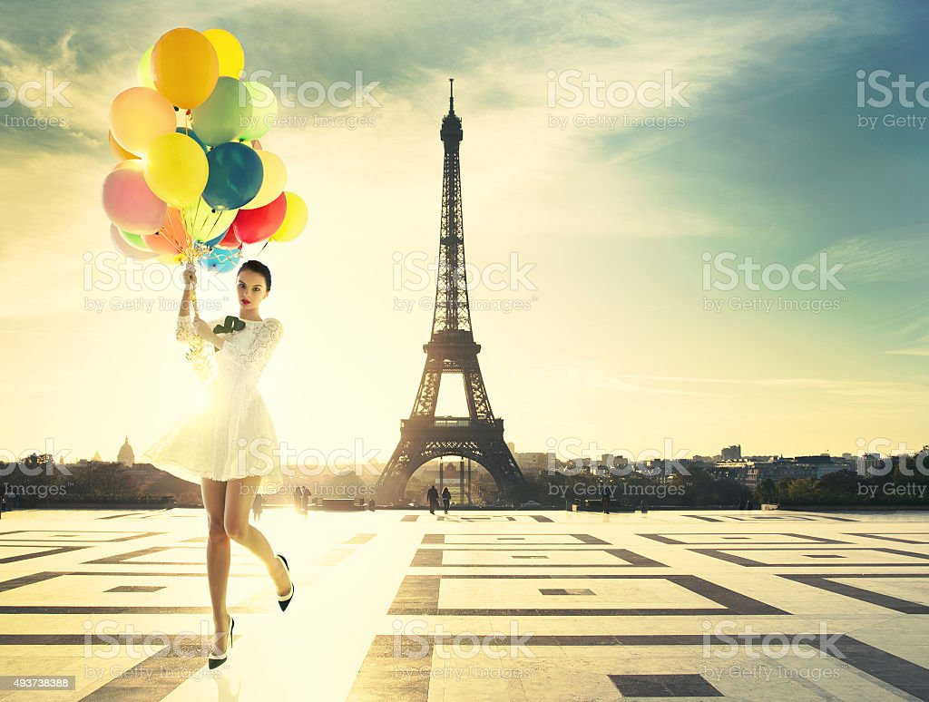 La moda de París - foto de stock