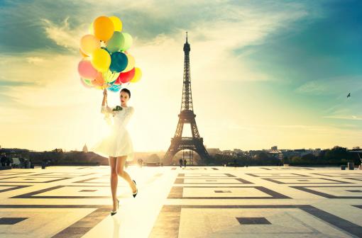 Paris fashion stock photos