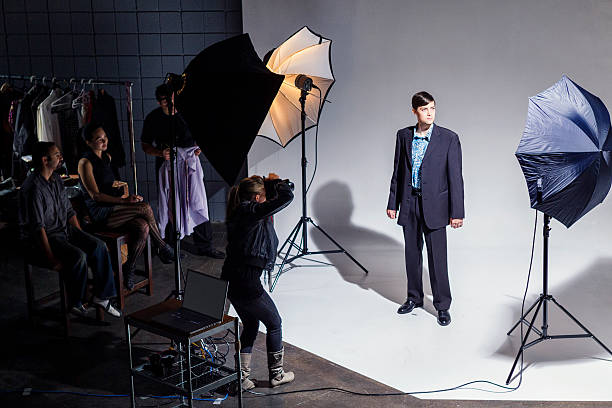 Fashion Photo Shoot stock photo