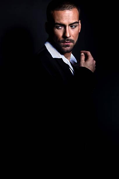 Mode portrait von einem gut aussehenden Mann – Foto