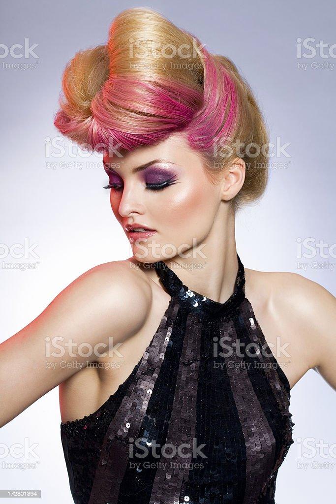 Fashion Portrait royalty-free stock photo