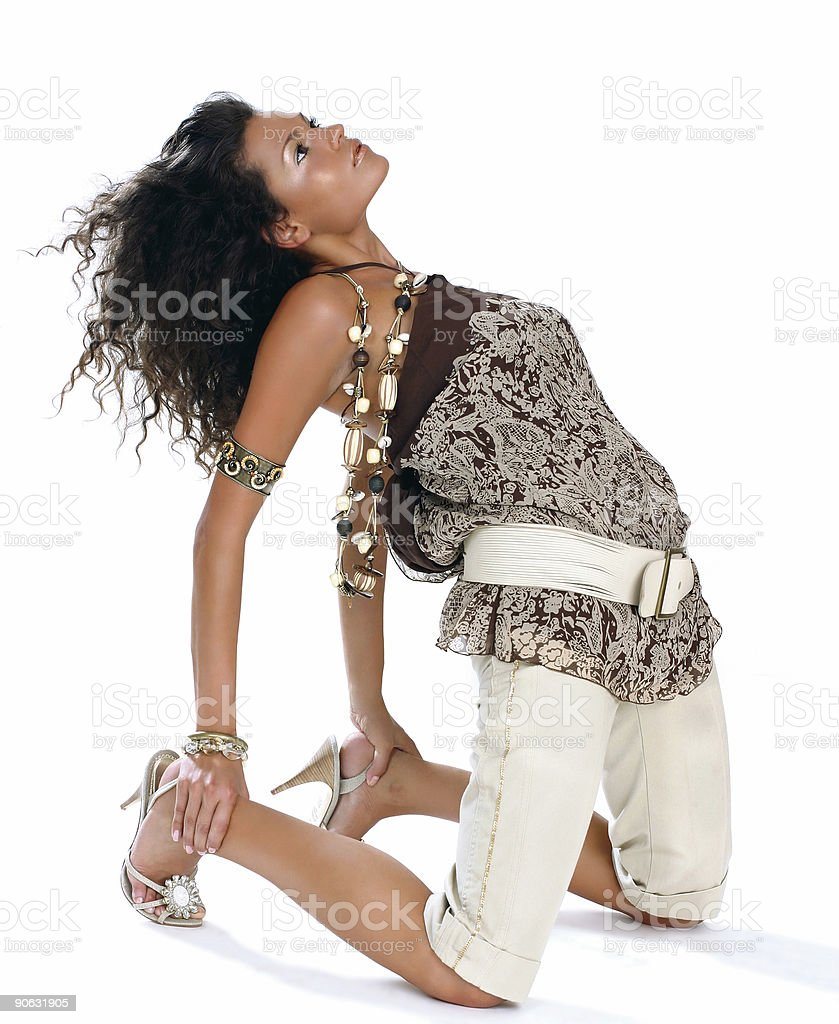 Fashion queen royalty-free stock photo