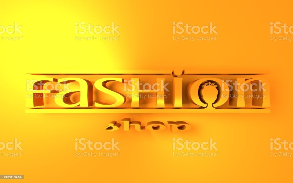 Fashion Shop Logo Design Stock Photo Download Image Now Istock