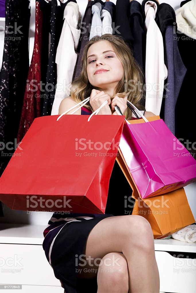 Fashion Shopping royalty-free stock photo