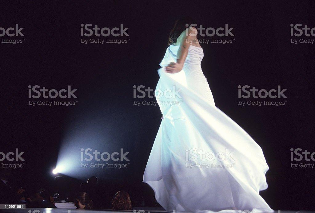 Fashion show, celebrity royalty-free stock photo