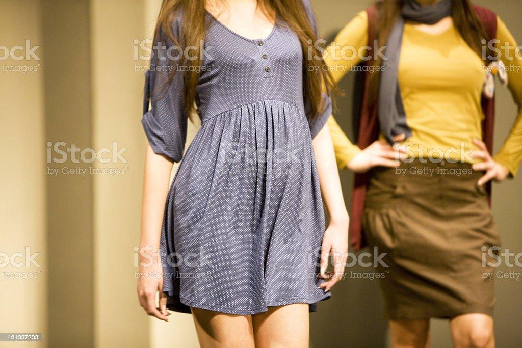 Fashion show stock photo