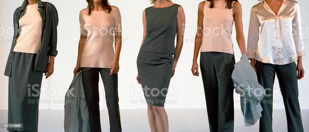 Fashion show royalty-free stock photo