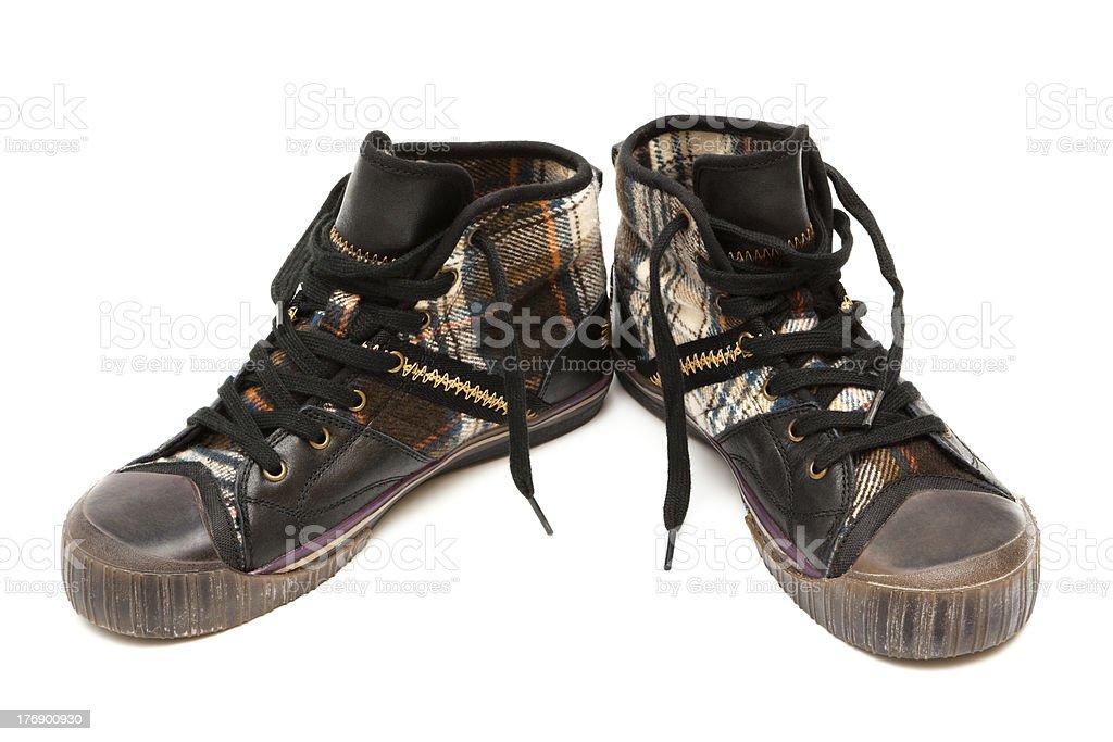 fashion sneakers royalty-free stock photo
