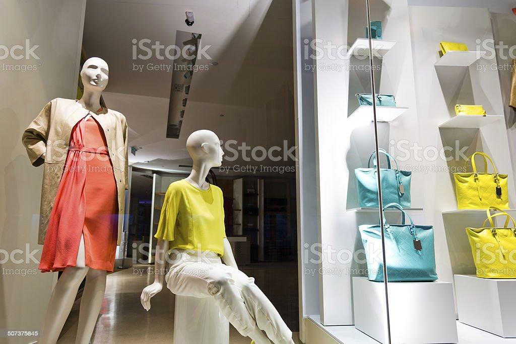 Mode-store Lizenzfreies stock-foto