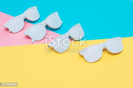 istock fashion sunglasses in white 637890894