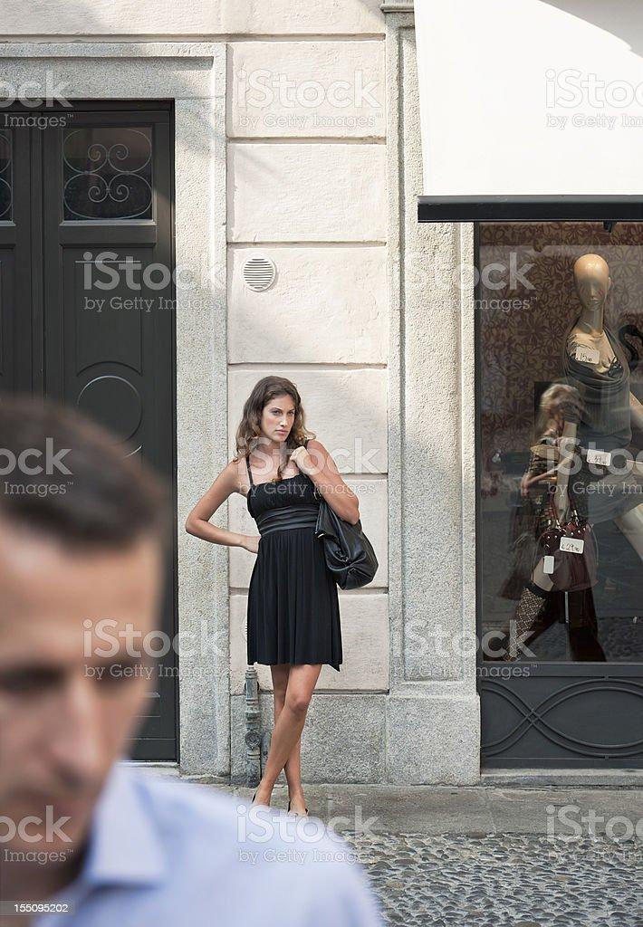 Fashion Victim royalty-free stock photo