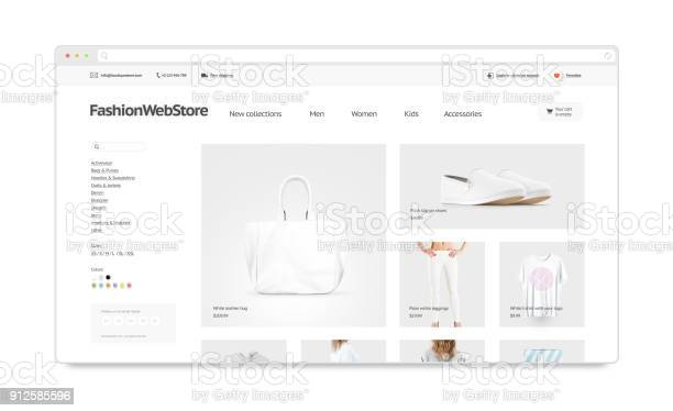 Fashion webstore site template mock up isolated picture id912585596?b=1&k=6&m=912585596&s=612x612&h=k302hdy2u6wl6q0lnhe j3b669gignqi mh5ulsrdfk=