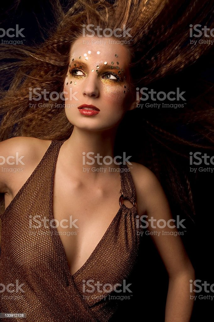 Fashion With Glitters - 2 stock photo