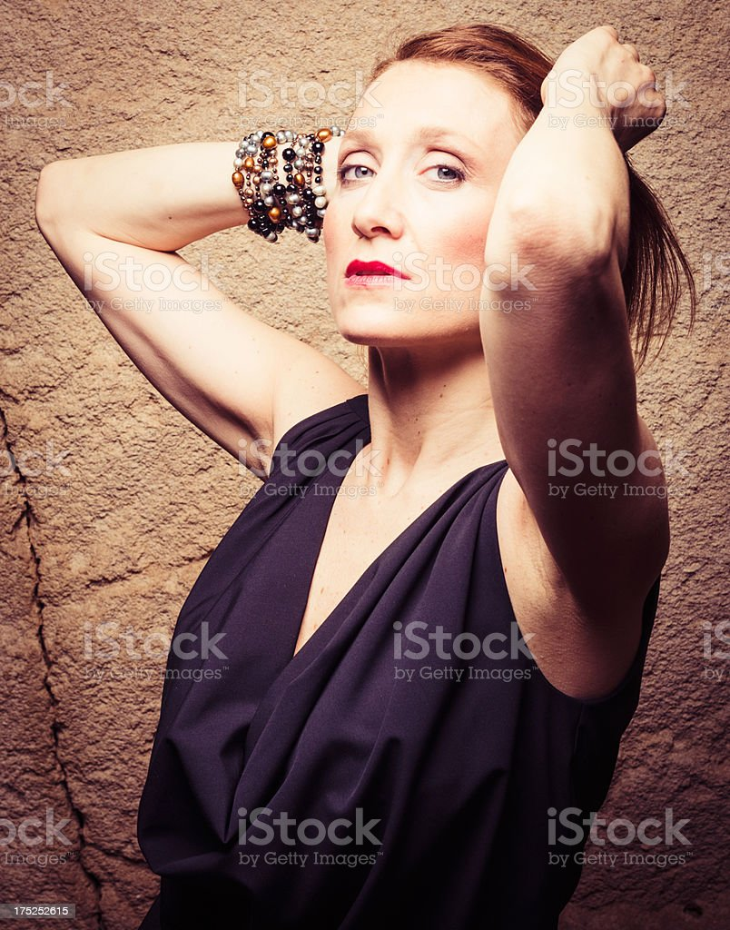 Fashion woman portrait royalty-free stock photo