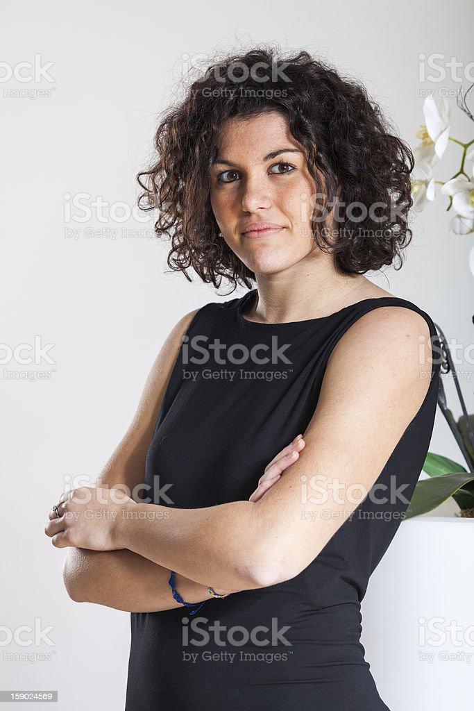 Fashion Women Portrait royalty-free stock photo