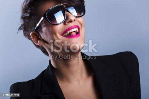 istock Fashion young Latin woman 175495729