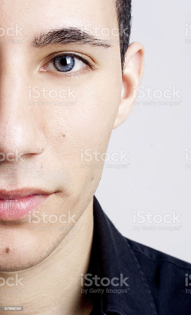 Fashion young man royalty-free stock photo
