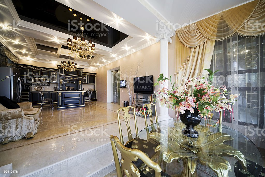 fashionable apartment royalty-free stock photo