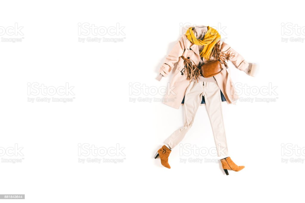 fashionable clothes stock photo