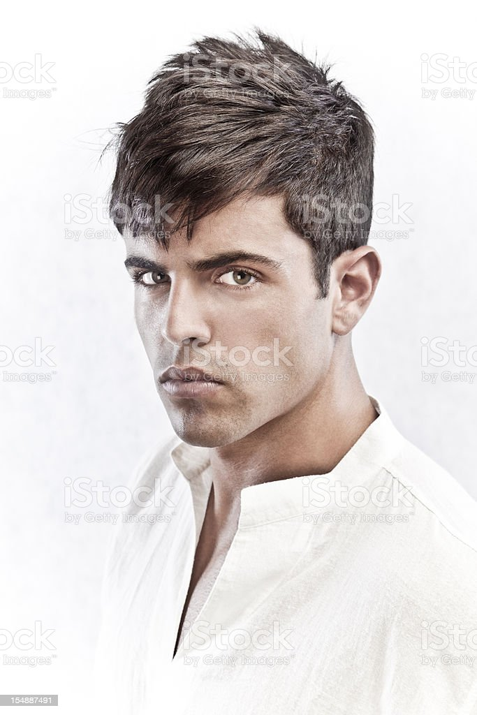 Fashionable man stock photo