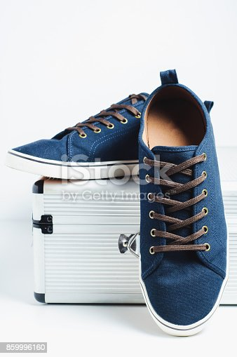 917262406istockphoto Fashionable men's shoes isilated on white background 859996160