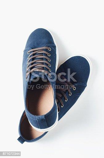 917262406istockphoto Fashionable men's shoes isilated on white background 871072344