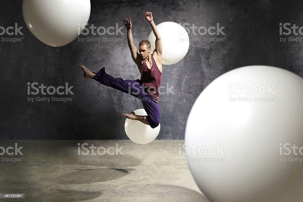 Fashionable modern dance stock photo