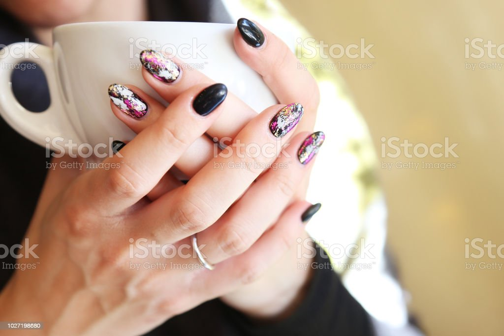Fashionable Nails Nail Art Beauty Skin Treatment Advertisement Hands
