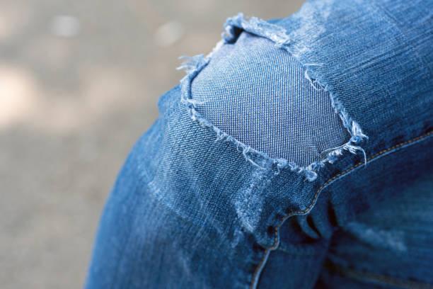 Pantalones Con Parches Banco De Fotos E Imagenes De Stock Istock
