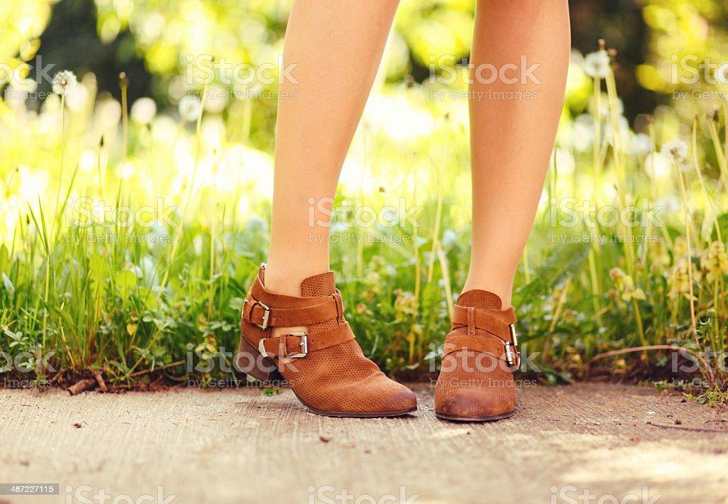 Modischen Schuhe – Foto